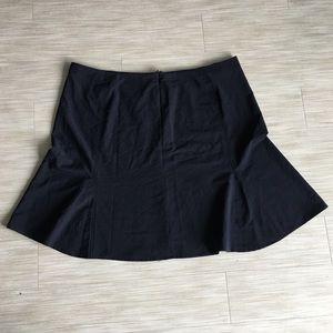 Avenue Stretch Blue Skirt